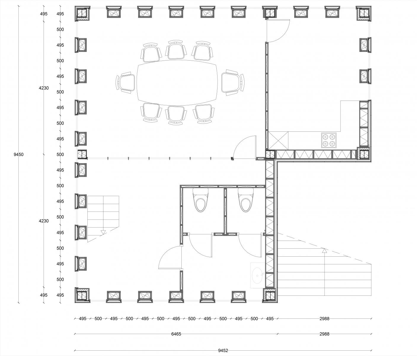Small Office Floorplan