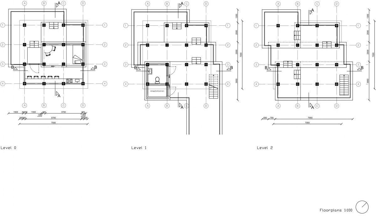 Unesco Pavilion Floorplan
