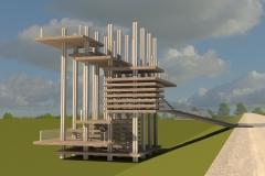 Unesco Pavilion Render